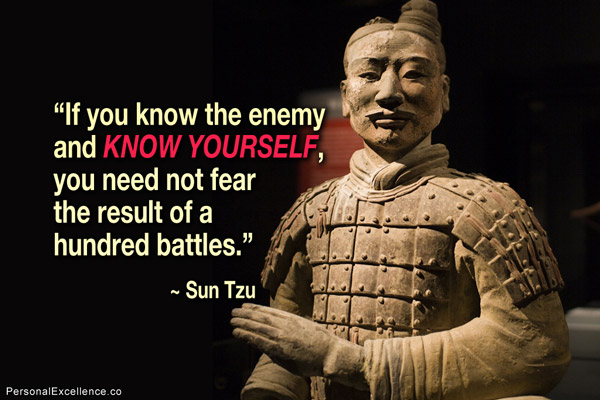A QUOTE FROM SUN TZU